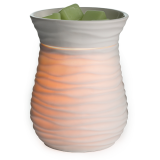 HARMONY Duftlampe elektrisch weiß Bisquit Porzellan