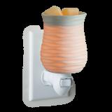 HARMONY weiß Porzellan Duftlampe für die Steckdose elektrisch