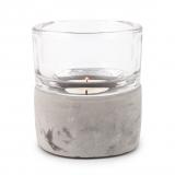 Pajoma Teelichthalter Ambiente klein Beton/Glas