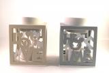 Duftlampe Home aus Keramik/Holz